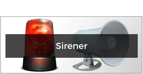 Sirener