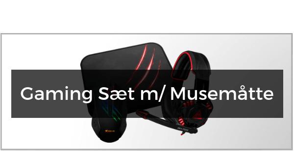 Gaming Sæt m/ Musemåtte