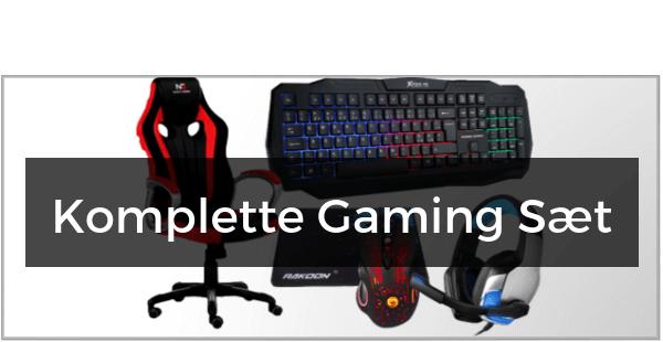 Komplette Gaming Sæt