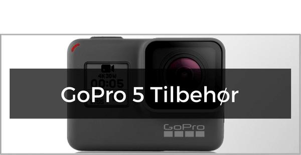 GoPro Hero 5 tilbehør