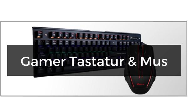 Gamer Tastatur & Mus