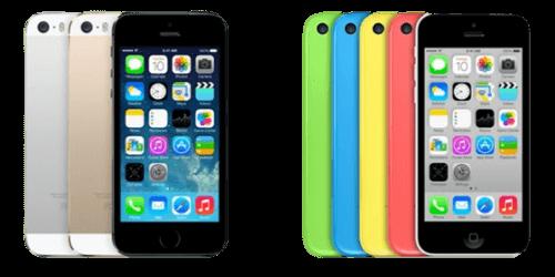 iPhone 5-Serien Reservedele