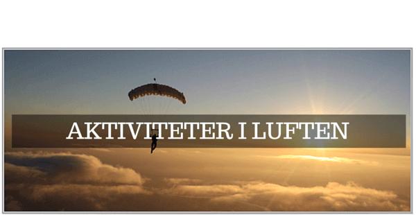 GoPro tilbehør til Skydiving & Faldskærmsudspring