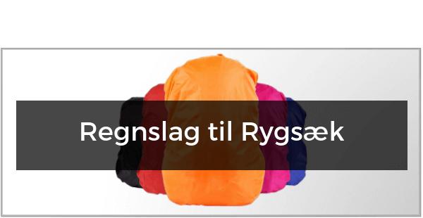 Regnslag til Vandrerygsæk