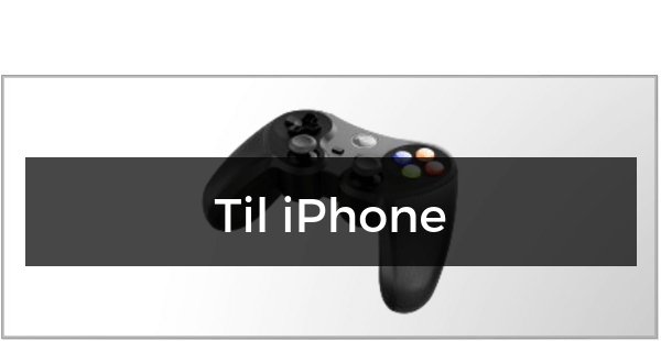 Gamepad & Controller til iPhone