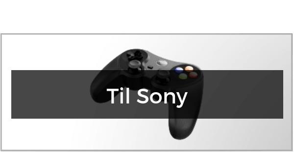 Gamepad & Controller til Sony