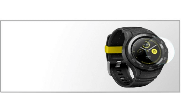 Panserglas & Skærmbeskyttelse til Huawei Watch 2/W2