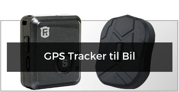 GPS Trackere til Bilen