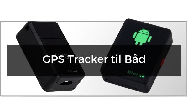 GPS Tracker til Båd
