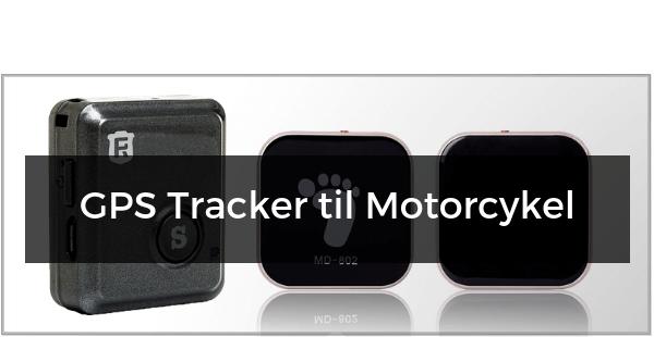 GPS Tracker til Motorcykel