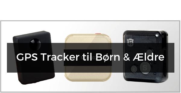 GPS Tracker til Børn & Ældre