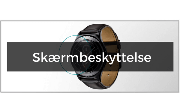 Panserglas & Skærmbeskyttelse til Samsung Gear S3