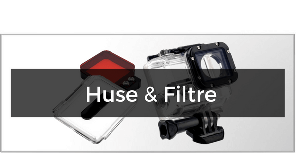 Huse & Filtre til GoPro Hero/Hero 5 Session