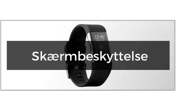 Skærmbeskyttelse til Fitbit Charge 2