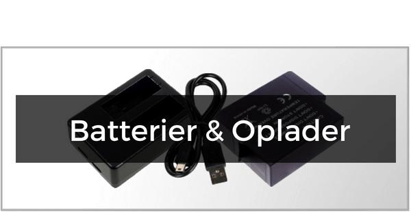 Batterier & Opladere til GoPro 5
