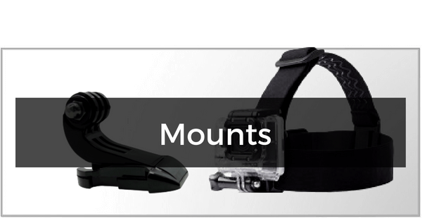 Mounts til GoPro HERO 3/3+
