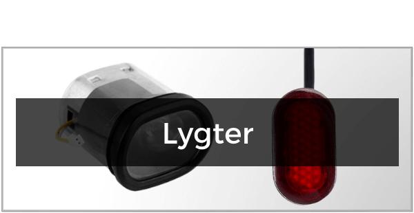 Lygter til Xiaomi Mi M365 / 365 Pro