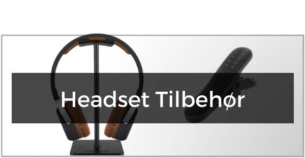 Headset Tilbehør