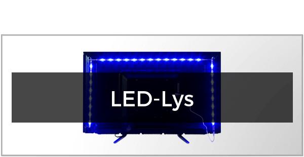 LED-Lys til TV