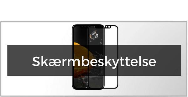 Panserglas & Skærmbeskyttelse til iPhone X