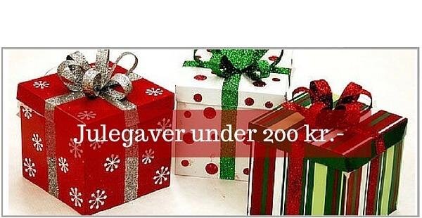 Julegaver under 200 kr.-