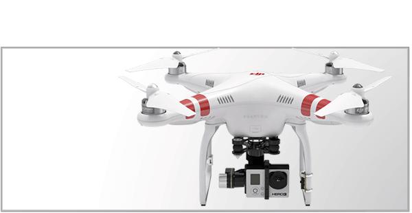 Droner til GoPro kamera