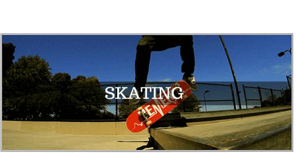 GoPro tilbehør til Skateboard / Rulleskøjter / Longboard