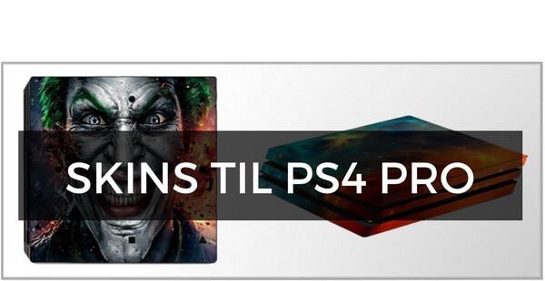 Skins til PS4 Pro
