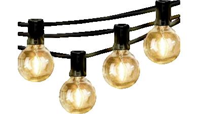 Lys til Altan