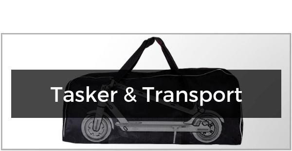 Tasker & Transport til El-Løbehjul