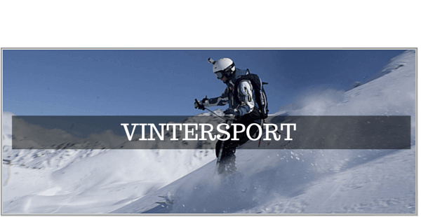 GoPro tilbehør til Ski & Snowboard