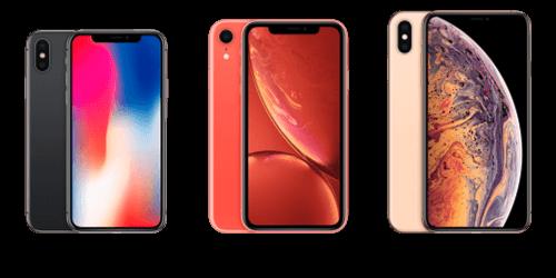 iPhone X-Serien Reservedele