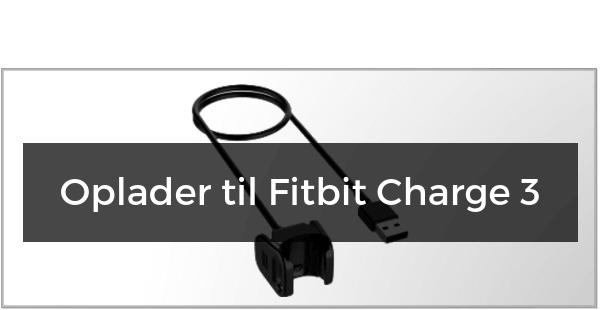 Oplader til Fitbit Charge 3