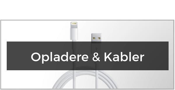 Opladere og Kabler til iPhone Xs