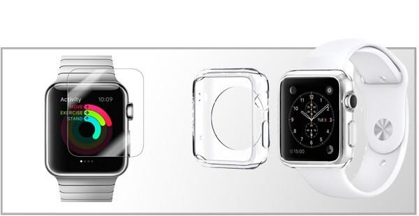 Panserglas & Skærmbeskyttelse til Apple Watch 5
