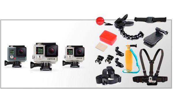 Tilbehør & Udstyr til GoPro