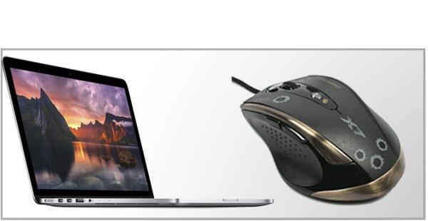 Gamer mus til Mac