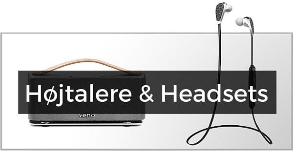iPad Højtalere & Headsets