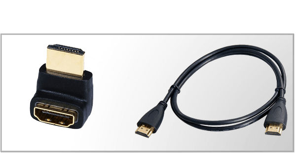 HDMI kabel & Vinkel