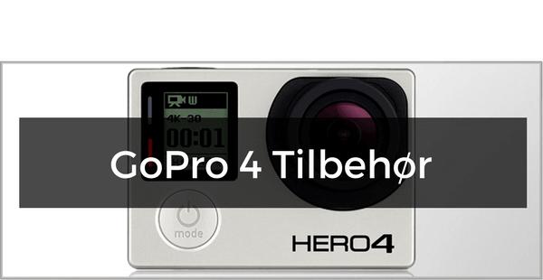 GoPro Hero 4 tilbehør