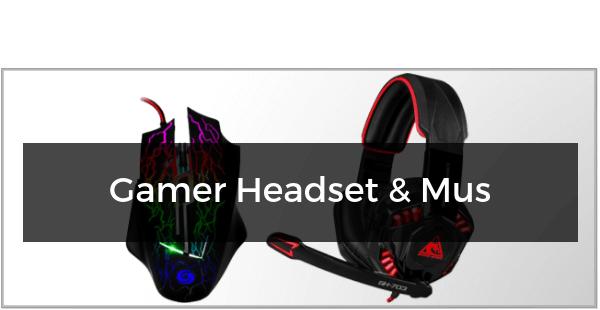 Gamer Headset & Mus