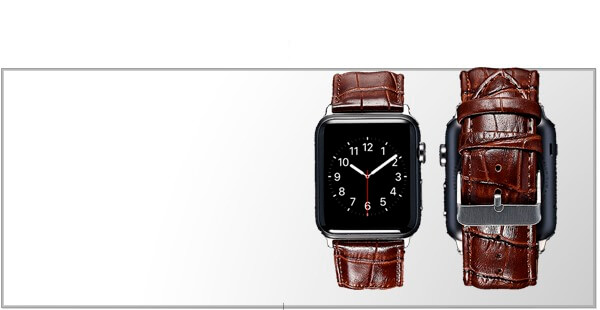 Læderremme til Apple Watch