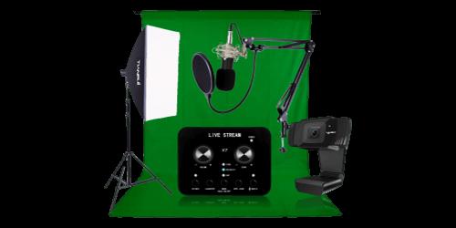 Livestreaming / Podcast / YouTube / TikTok