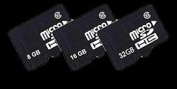 Hukommelseskort til DJI Osmo Pocket