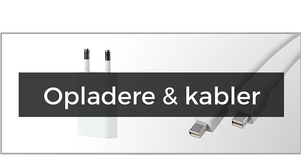 Opladere & kabler til iPhone 6(S) Plus