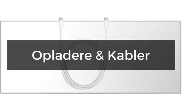 Opladere og kabler til OnePlus 3/3T