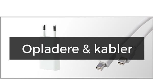 Oplader og kabler til iPhone 8 Plus