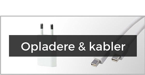 iPad 2 / 3 / 4 - opladere & kabler