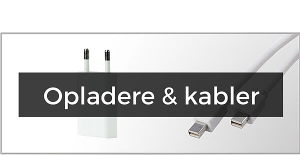 iPhone 5/5S/5C kabler & opladere