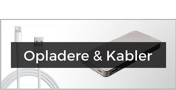 Opladere & Kabler til iPhone SE